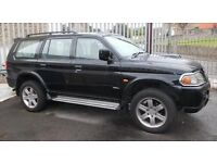 Mitsubishi Shogun V6 4X4 Sport - A large powerful, fun, on and off roader in the upgraded edition