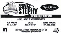 Station Service Stephy ! 7/7 514-726-9101