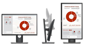 Height Adjustable Dell 22' Monitor - H2217H