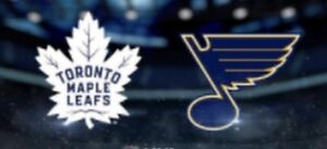 TORONTO MAPLE LEAFS ST LOUIS BLUES SATURDAY OCTOBER 20 & OTHERS