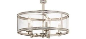 Rhinestone Semi Flush Mount Pair 2 Chandeliers Price For Pair