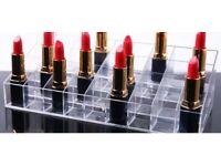 BRAND NEW FREE DEL 36 piece Lipstick /cosmetic stand storage display
