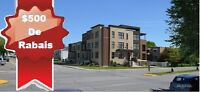 Only 2 left!! New 4 1/2 Condo's For Rent in LaSalle - $500 OFF