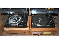 Pair of Technics 1210s MKII