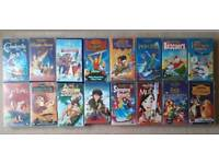 Disney Vhs Bundle