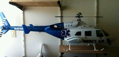 (Bell 222ut Mercy Air rc scale helicopter with radio ***Christmas Sale*** RTF)