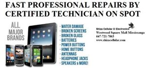 SAMSUNG & IPHONE REPAIR** BY CERTIFIED TEC**ON SPOTAll Apple Ip