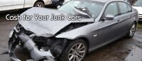SCRAP CARS WANTED - WILL PAY UP TO $2500$$ (905)516-3050