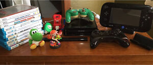 Nintendo WiiU for sale - controllers and Amiibos included