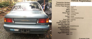1993 Toyota Tercel FWD - reliable commuter for another 200 000 k