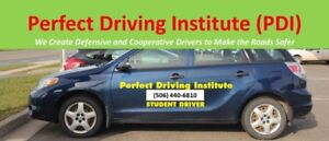 $40/hour driving lesson at Perfect Driving Institute (PDI)