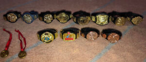 WWE ACTION FIGURE CHAMPIONSHIP TITLES!!!!!