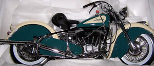 Moto Indian Chief de collection...Parfaite condition...