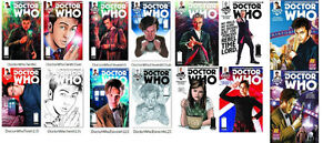 DOCTOR WHO tv show comic books all mint 1st printings lot