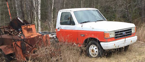 1991 Ford F-350 truck 7.3 diesel c6 auto 2WD PARTS ONLY