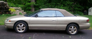 1999 Chrysler Sebring Convertible - Excellent Condition