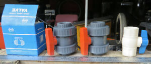BALL VALVES for POOL or SPA