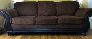 Selling TWO sofas and a love seat