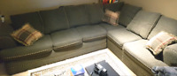 SECTIONAL (L SHAPE) PULL OUT SOFA bed
