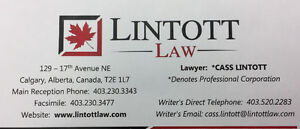 Lawyer / Legal Services - Lintott Law (Contract & Lease Review)