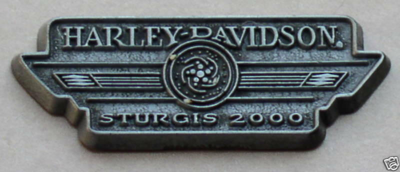 HARLEY DAVIDSON HOG RALLY STURGIS 2000 PIN PINS 00