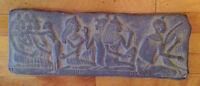 Egyptian design cement art piece