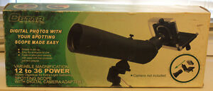 Cstar  Spotting Scope with digital camera adapter