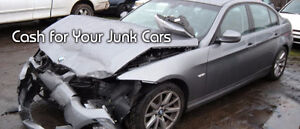BUYING UNWANTED/DAMAGED/SCRAP CARS!! UP TO $3000