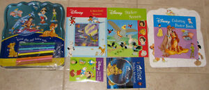 Disney Collectors Tin full of 5 books & CD
