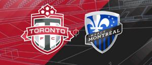 Tfc tickets vs Montreal