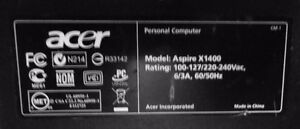 ACER AX1400 & AX1700 MONITOR AND ALL OR TOWER ONLY Windsor Region Ontario image 9