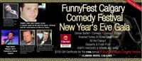 FunnyFest Comedy New Year's Eve Dinner, Comedy & Dance @ Clarion