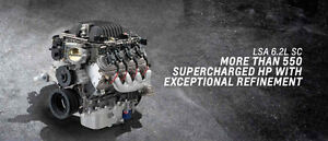 Chevrolet GM LSA Supercharged Crate Engine Motor CTS-V ZL1 550hp