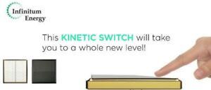 AC Wireless Kinetic Switch