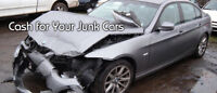 SCRAP CARS - WILL PAY UP TO $2500$$ (905)516-3050