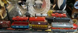MARX LOCOMOTIVES & ROLLING STOCK PLUS MORE STARTING $10. EACH