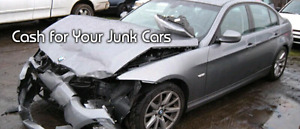 Buying unwanted/damaged or scrap cars for up to $5000
