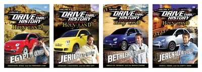 NEW God-fearing Land Drive Thru History Dave Stotts Set 4 DVD Through America Series