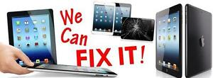 iPad 2/3/4 Screen Repair $75 *** iPad Mini $80 *** iPad Air $90 Same Day Repairs!  Store Location