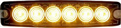 Buyers Products 8892200 Amber 6 LED Strobe Light