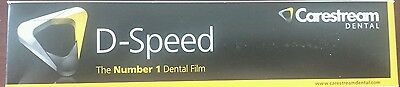 Dental Kodak Intraoral D-speed 100 X-ray Films Carestream Adult Size 2 Df-58