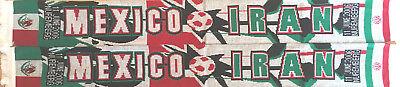 Mexiko Schal (Mexiko - Iran Fanschal Schal Fussball Football scarf Nürnberg WM06 #084)