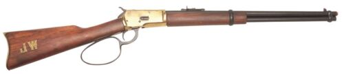 Old West M1892 Replica brass Finish Loop Lever Rifle Denix Non-Firing John Wayne