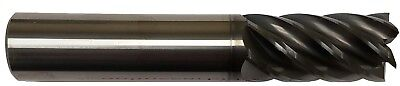 14 6 Flute Carbide End Mill -square End - Alcrn Coated