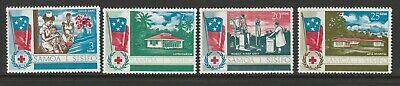 Samoa 1967 Health Service set SG 290-293 Mnh.