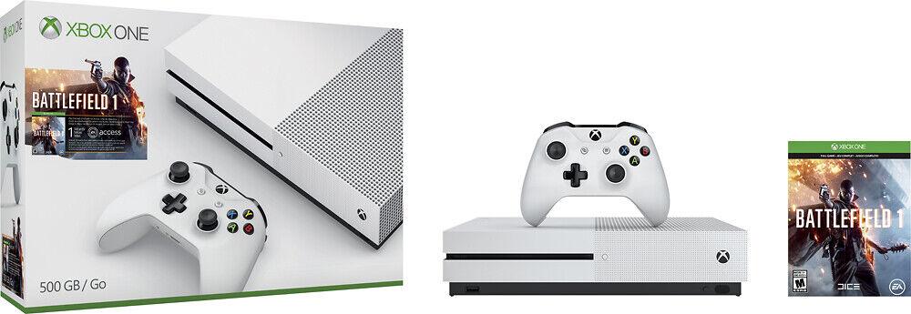 new-microsoft-xbox-one-500gb-4k-ultra-hd-battlefield-1-bundle-ultra-hd-white
