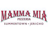 Mamma Mia Jericho Sous Chef