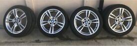 BMW 335d M Sport GENUINE Wheels 5x120