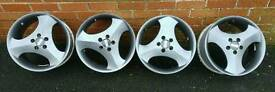 5x100 16 inch Cosmic Verendi alloy wheels