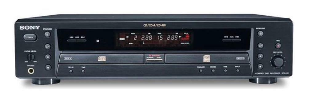 Sony RCD W1 CD player and recorder